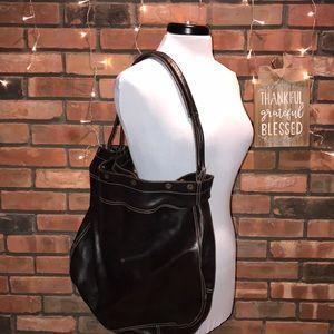 🍁🧡FURLA Large Leather Bag Clean barley used